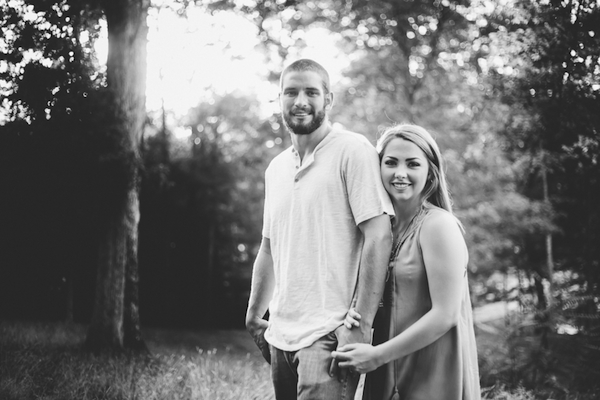 Carson and Ryan Tennessee Forest Engagment 23- photo by Healthy Faulkner Photography - midsouthbride.com