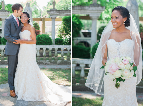 JeanelleRyan Memphis Wedding - photo by Sarah Rossi