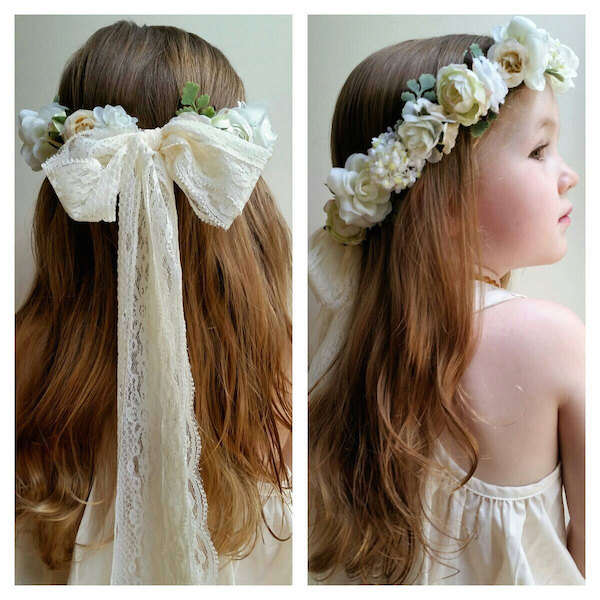 Flower Crowns For Flower Girls Mid South Bride