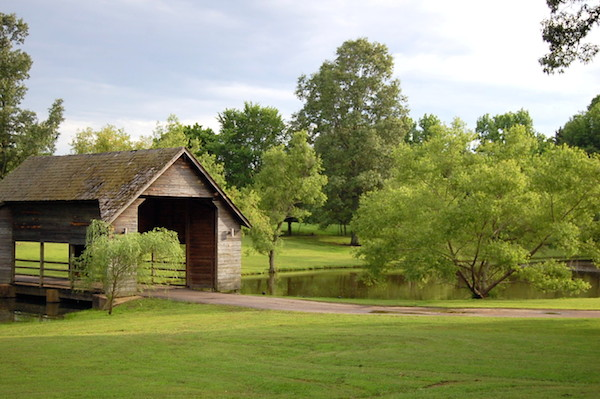 Memphis Wedding Venue - The Bridge at Chrisleigh Farm Bridge Pond