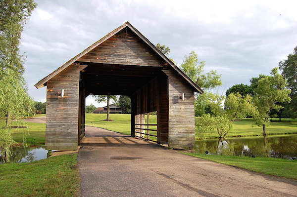 Memphis Wedding Venue - The Bridge at Chrisleigh Farm Ceremony area