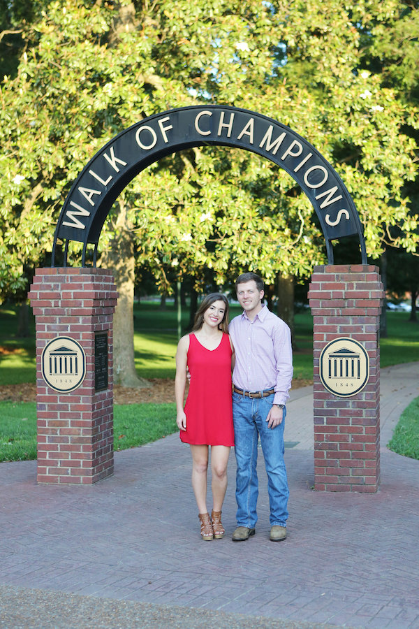 Beth and Tyler's Ole Miss Engagement - photo by Eliza Kennard Photography - midsouthbride.com 45