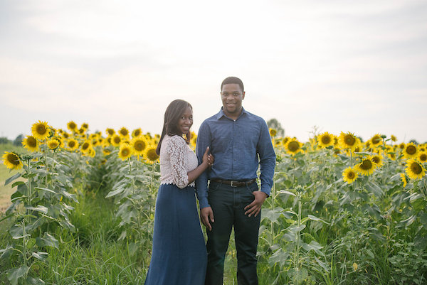 Jamarcus & Vicki Sunflower Memphis Engagement - 1-1derful Creation Photography - midsouthbride.com 11