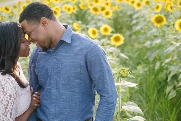 Jamarcus & Vicki Sunflower Memphis Engagement - 1-1derful Creation Photography - midsouthbride.com 13