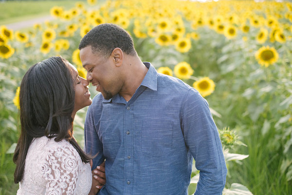Jamarcus & Vicki Sunflower Memphis Engagement - 1-1derful Creation Photography - midsouthbride.com 14