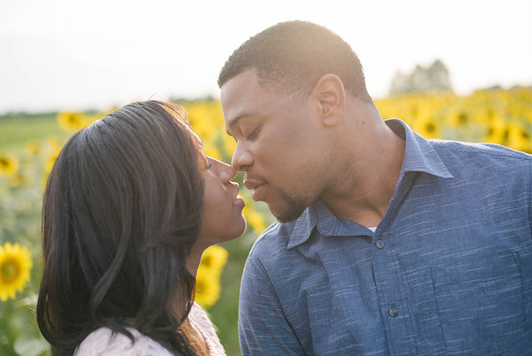 Jamarcus & Vicki Sunflower Memphis Engagement - 1-1derful Creation Photography - midsouthbride.com 18