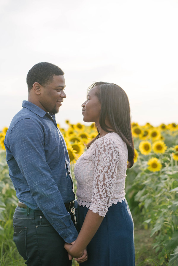 Jamarcus & Vicki Sunflower Memphis Engagement - 1-1derful Creation Photography - midsouthbride.com 19