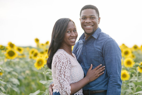 Jamarcus & Vicki Sunflower Memphis Engagement - 1-1derful Creation Photography - midsouthbride.com 2