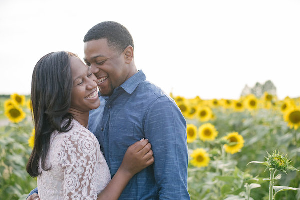 Jamarcus & Vicki Sunflower Memphis Engagement - 1-1derful Creation Photography - midsouthbride.com 4
