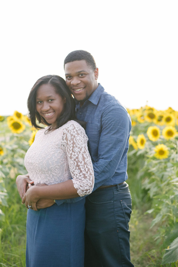Jamarcus & Vicki Sunflower Memphis Engagement - 1-1derful Creation Photography - midsouthbride.com 7