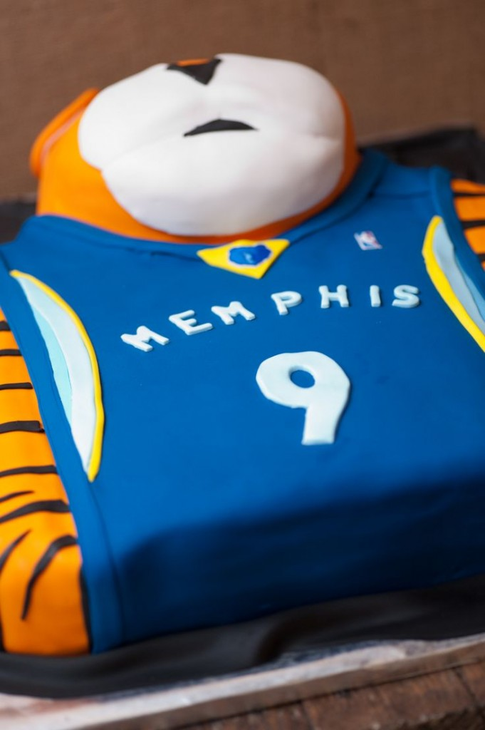 Memphis Tigers Groom's Cake | Melissa Sweazy | Oh My Ganache