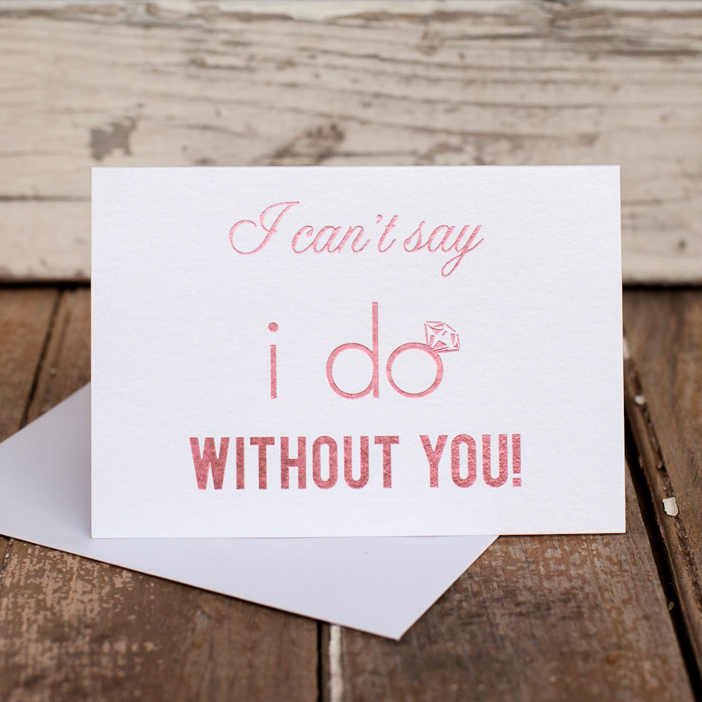 12 will you be my bridesmaid card ideas mid south bride