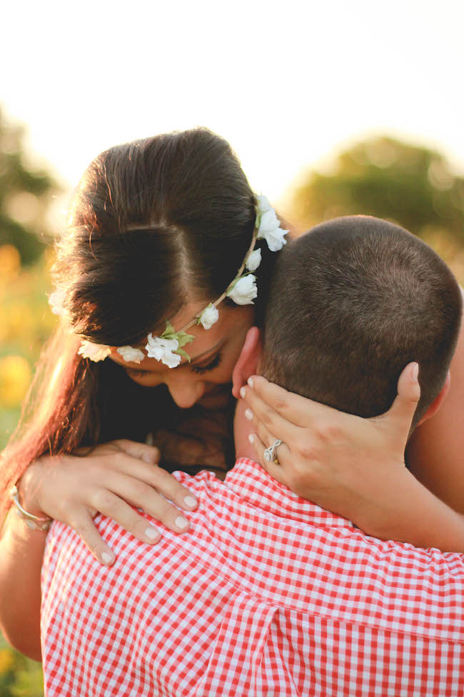 Tyler & Jessica's Sunflower Surprise Proposal in Mississippi - Cassie Cook Photography - midsouthbride.com