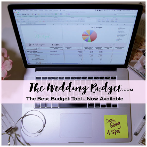 wedding budget tool from hey bride