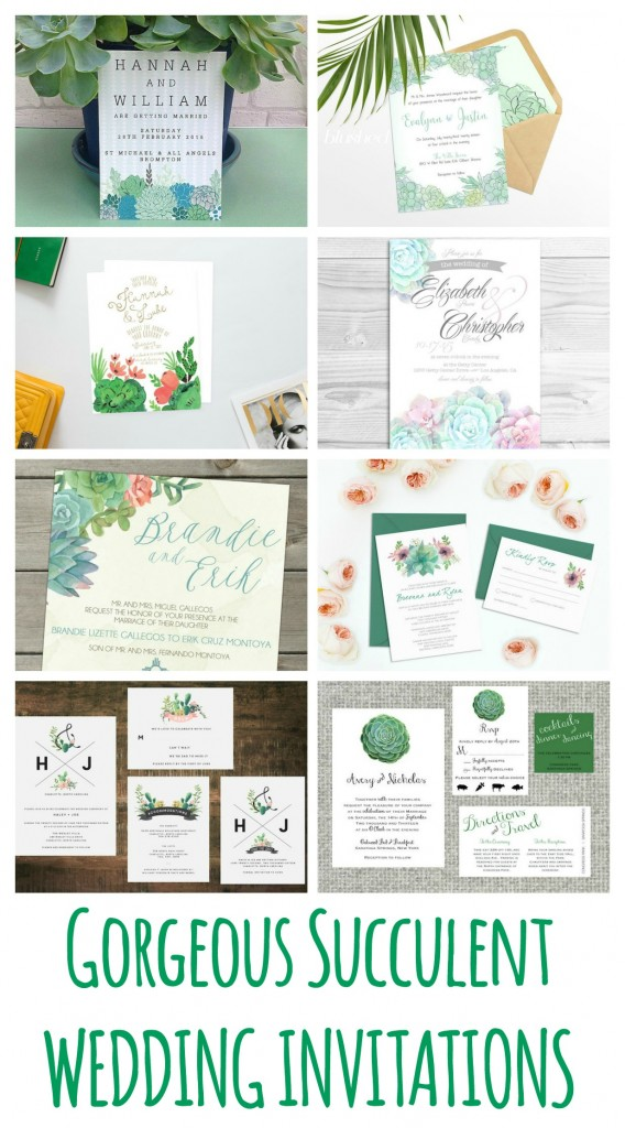 22 gorgeous succulent wedding invitations mid south bride succulent wedding invitations succulents have been making solutioingenieria Choice Image