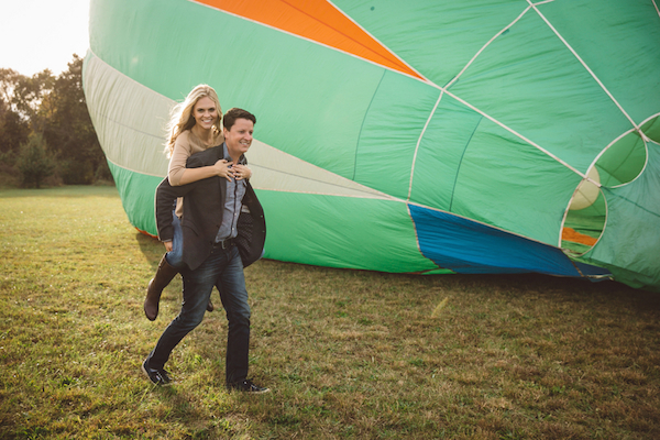 Darby & Garrett's Hot Air Balloon Engagement Session - photo by SheHeWe Photography - midsouthbride.com 35