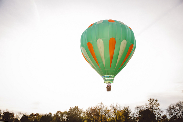 Darby & Garrett's Hot Air Balloon Engagement Session - photo by SheHeWe Photography - midsouthbride.com 41