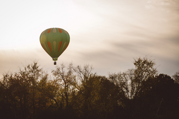 Darby & Garrett's Hot Air Balloon Engagement Session - photo by SheHeWe Photography - midsouthbride.com 42