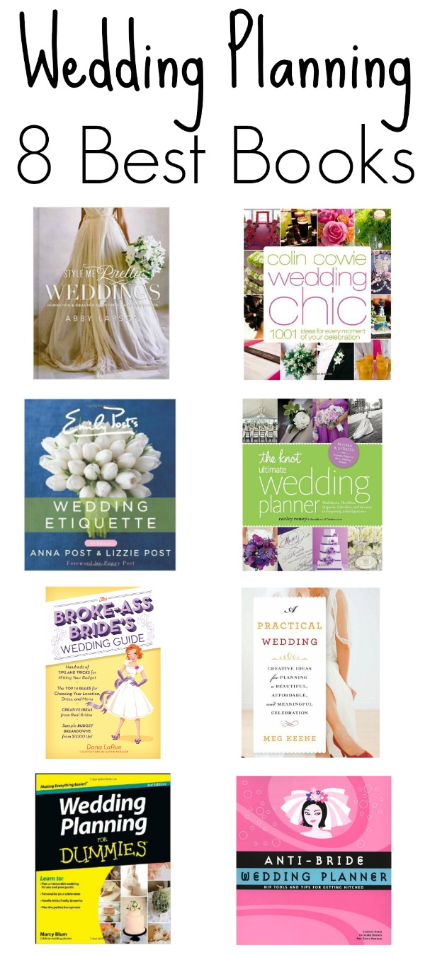 8 best wedding planning books mid south bride 8 best wedding planning books junglespirit Choice Image