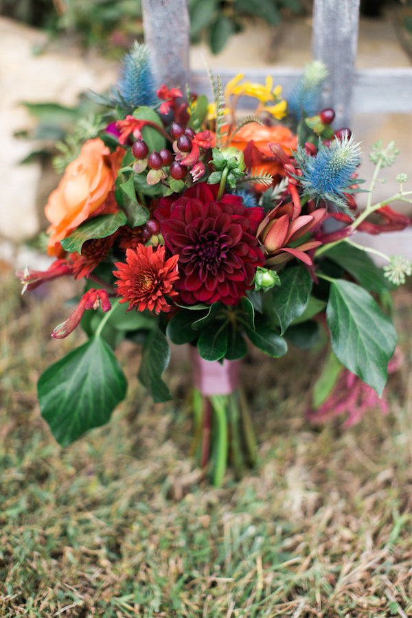 Jessy & Seth's Moody Marsala Wedding - Juliet Young Photography - midsouthbride.com 14