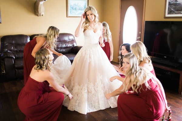 Jessy & Seth's Moody Marsala Wedding - Juliet Young Photography - midsouthbride.com 24