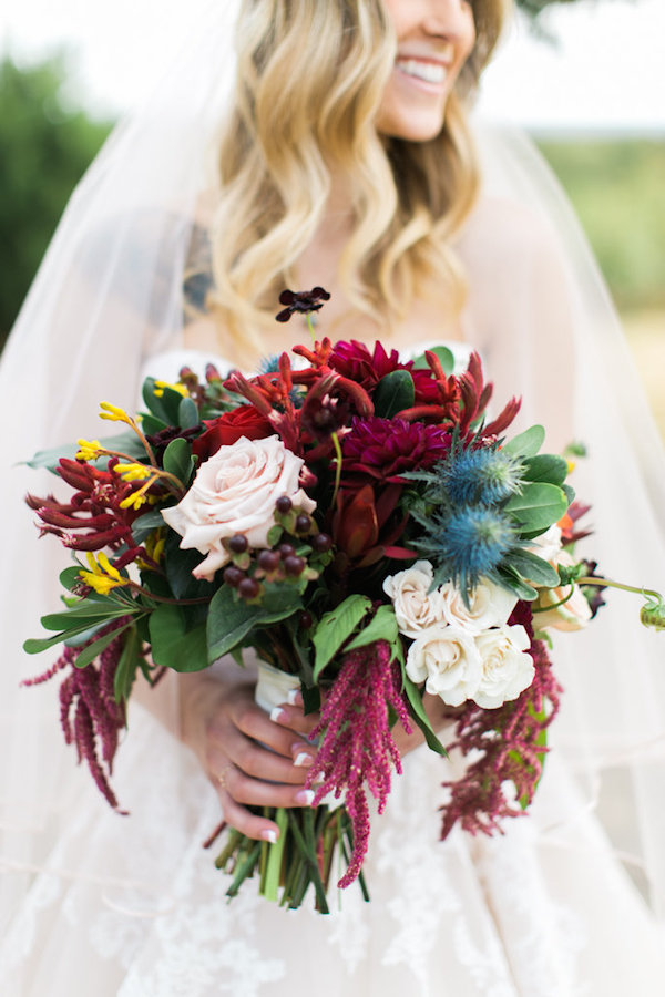 Jessy & Seth's Moody Marsala Wedding - Juliet Young Photography - midsouthbride.com 29