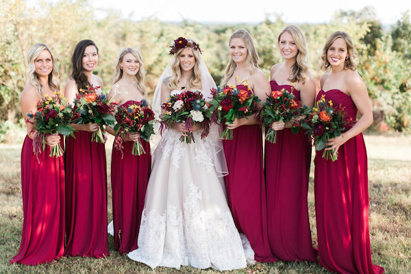 Jessy & Seth's Moody Marsala Wedding - Juliet Young Photography - midsouthbride.com 40