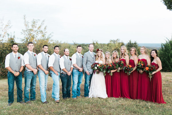 Jessy & Seth's Moody Marsala Wedding - Juliet Young Photography - midsouthbride.com 8