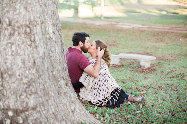 Melissa & Wade's Small Town Mississippi Engagement - photo by Daesha Marie Photography - midsouthbride.com 10