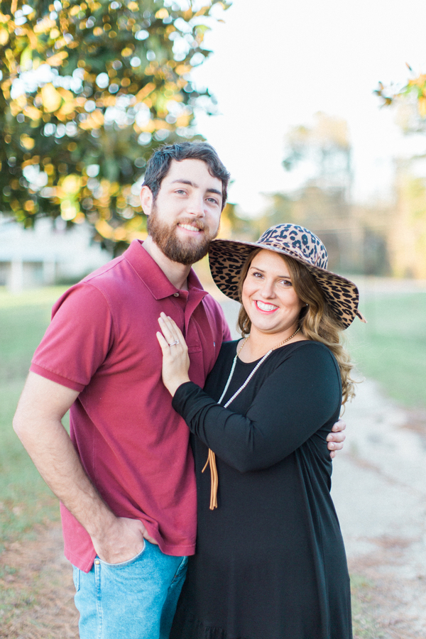 Melissa & Wade's Small Town Mississippi Engagement - photo by Daesha Marie Photography - midsouthbride.com 11