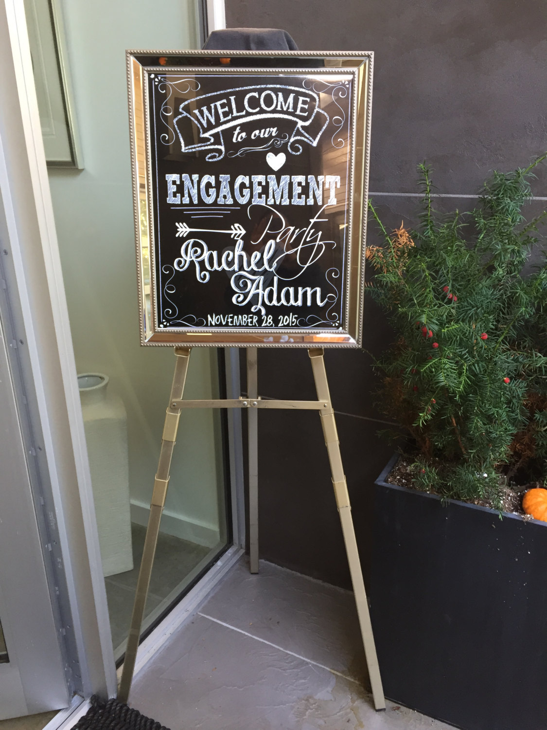 Engagement Party Signs Amp Banners Mid South Bride
