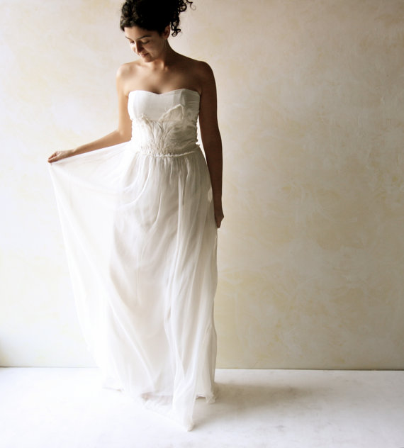 Wedding Dress, Boho wedding Dress, Bridal Gown, Hippie wedding dress ...