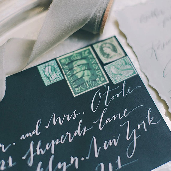 BP Calligraphy wedding calligrpahy envelope addressing - midsouthbride.com