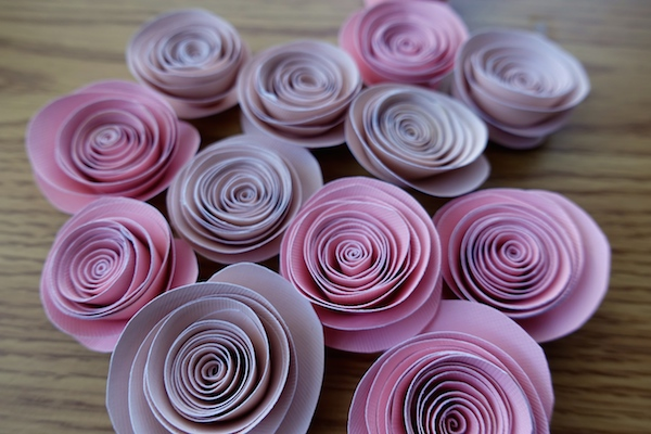 diy paper rose flowers tutorial