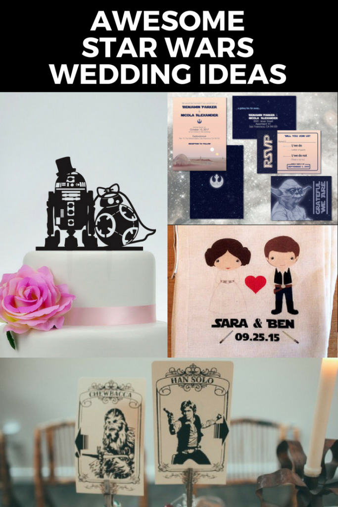Those Are Just A Few Of The Fun Star Wars Wedding Ideas We Found Out There Enjoy Adding Little Saga Magic To Your Special Day