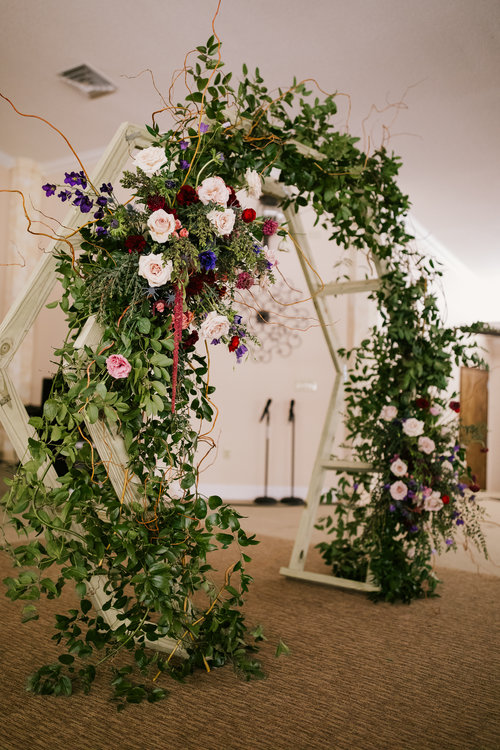 Connor & Co Wedding Florist Wedding Arch